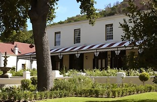 Pontac Manor accommodation in Paarl in the winelands