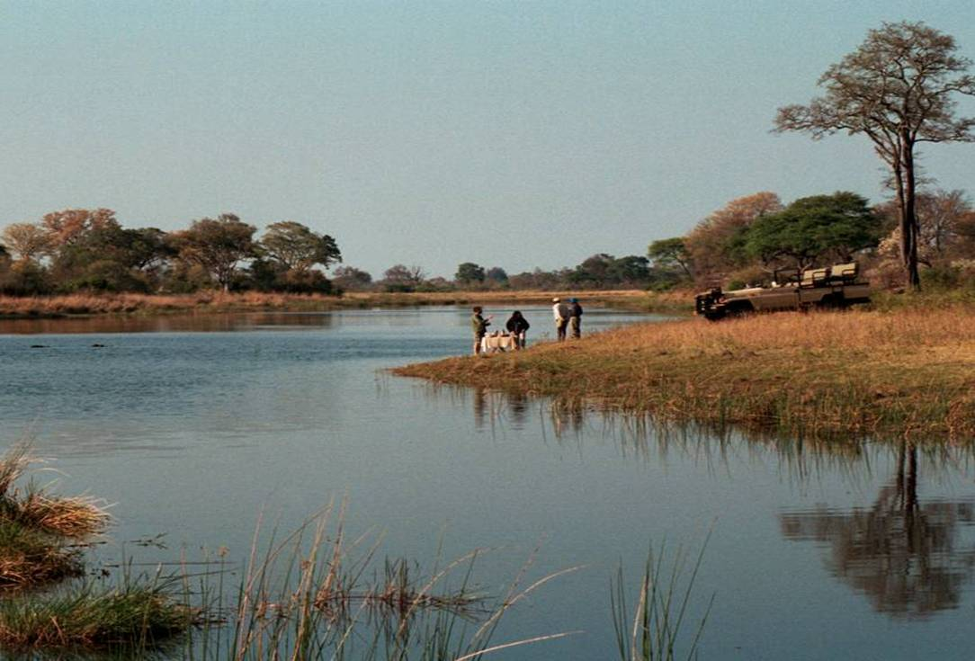Caprivi Island Strip accommodation Namibia