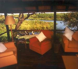 Accommodation  on the Caprivi strip Namibia